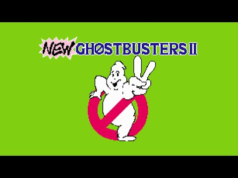 New Ghostbusters II (NES): Полное Прохождение