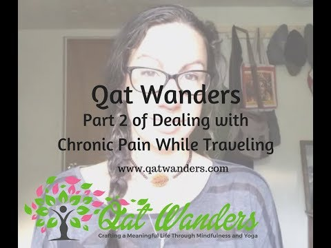 What do I do about chronic pain while I travel?