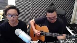 Thinking Out Loud Aucostic - Hoàng Dũng ft Hiển Râu