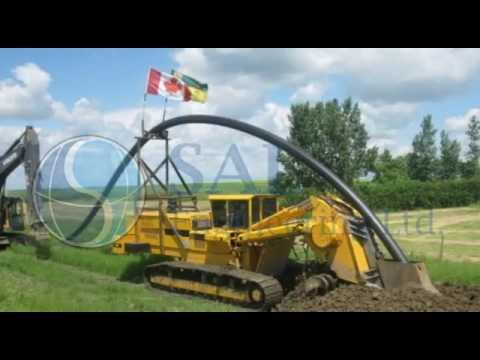 SAL Engineering - Dundurn Rural Water Utility - Phase III Potable Waterline Project - 2014
