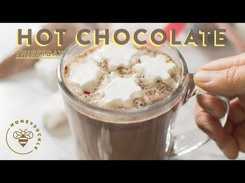 Homemade Hot Chocolate Recipe + DIY Gift Idea - Honeysuckle