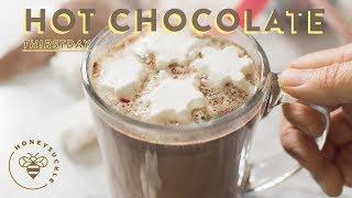Homemade Hot Chocolate Recipe + DIY Gift Idea - Honeysuckle