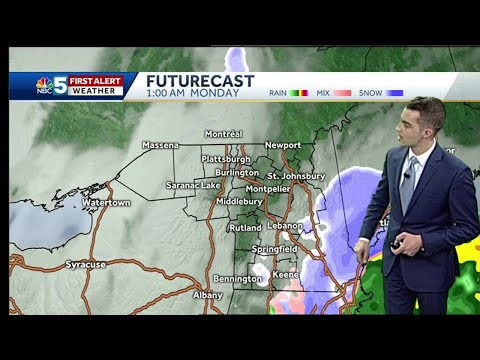 Video: Snow accumulates for some by late Monday (12-16-18)