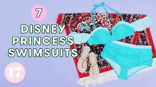 7 *Magical* Disney Princess Swimsuits | Style Lab