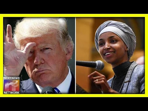 Trump Turns To Reporters And Drops NUKE On Anti-American Ilhan Omar