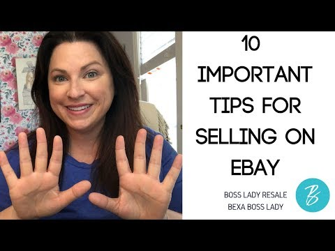 10 Important Tips You Must Know About Selling On Ebay!
