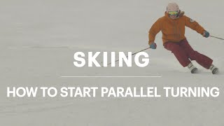 How to Make Parallel Turns—Tips for Improving Your Skiing || REI