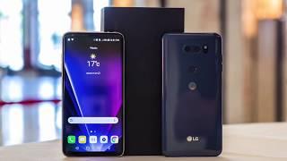 """LG V30 - полный обзор смартфона с """"самой светлой камерой в смартфонах"""""""