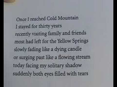 Han Shan Cold Mountain For Gary Snyder Jack Kerouac And