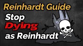 Gambar cover STOP DYING as REINHARDT | Reinhardt Shield Management, Positioning, & Awareness Guide