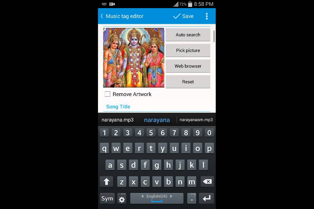Lyric remove lyrics from song : Android app to embed lyrics and add album art to m - YouTube