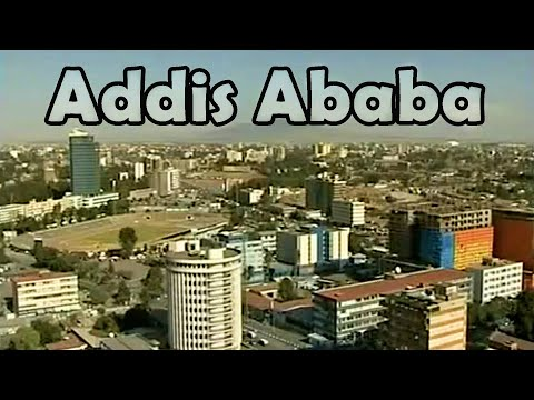 Addis Ababa, Ethiopia, panorama and tourist attractions