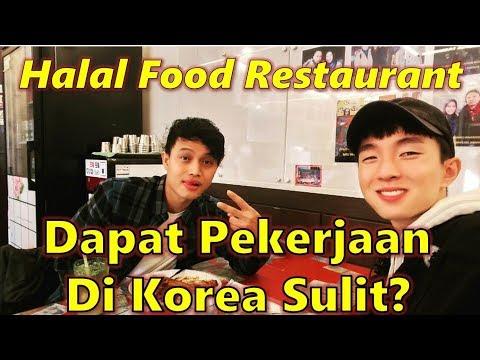Orang Korea Ngobrol Sama Orang Indonesia di Halal Food Restaurant