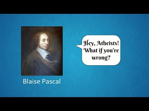 Isn't Atheism Risky? What if you're wrong? (PASCAL'S WAGER) - Sapient Saturdays