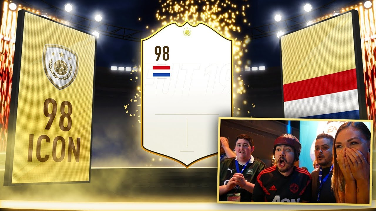 FIFA 19 PRIME ICON IN A PACK!!!