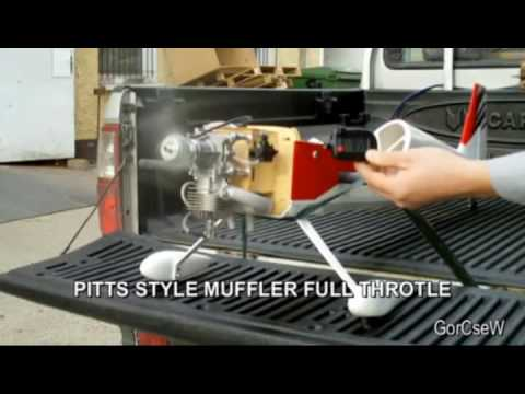 DLE-30 Pitts Style Muffler Test / Comparison