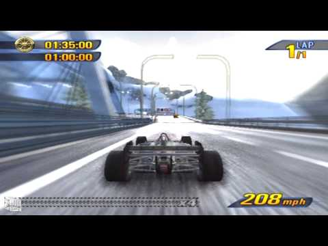 Burnout 3 Takedown - F1 Car Race (Playstation 2)