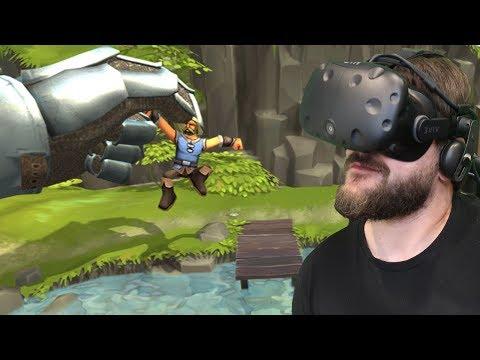 Gra W Której Jesteśmy BOGIEM I Budujemy Miasto - Townsmen VR (HTC VIVE VR)