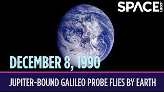 OTD in Space - Dec. 8: Jupiter-Bound Galileo Probe Flies by Earth