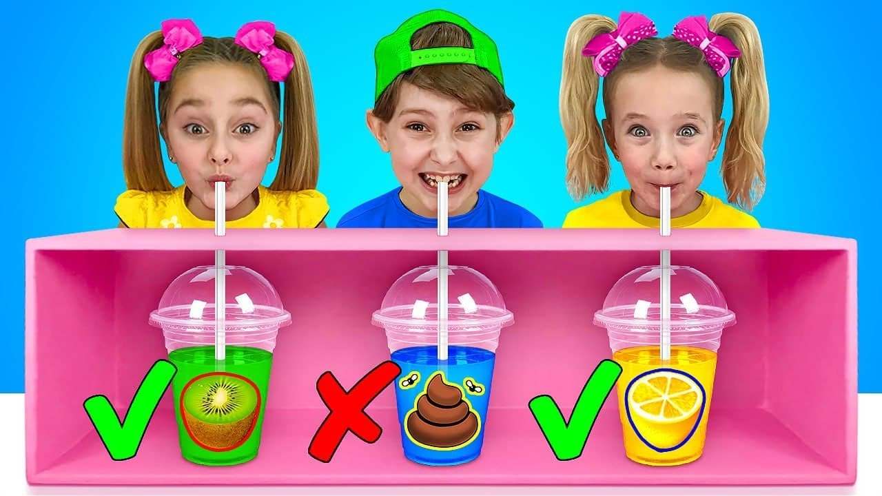 Download Sasha and Daddy Say Yes to Everything Within 24 hours! All Day Challenge for Children