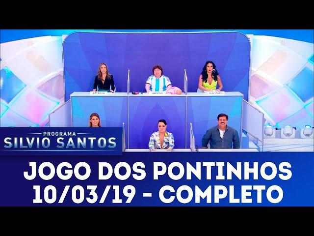 Jogo dos Pontinhos - Completo | Programa Silvio Santos (10/03/19)