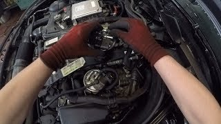Mercedes-Benz C 220 CDI (OM651) - Changing the Diesel Filter