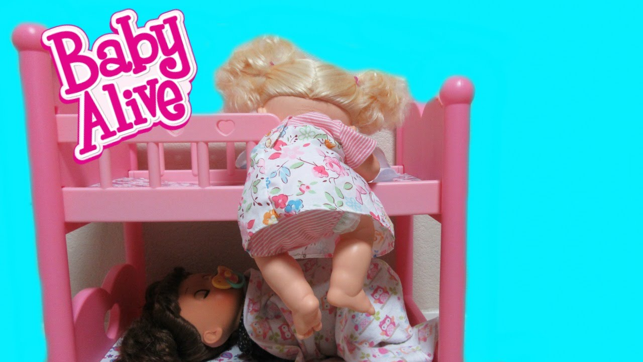 Baby Alive Real Surprises Doll Sneaks Out Of Bed For A