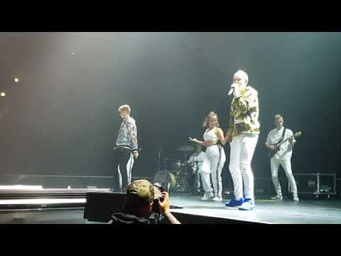 Marcus & Martinus - INVITED Live - Oberhausen 03.10.2018 Germany (Front row perspective, 4K)