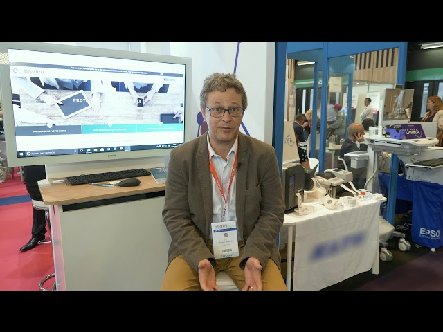 Paris Healthcare 2018 - Pradeo - Interview Renaud Gruchet