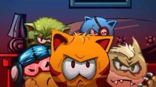 Голодные коты от Dynamic Pixels