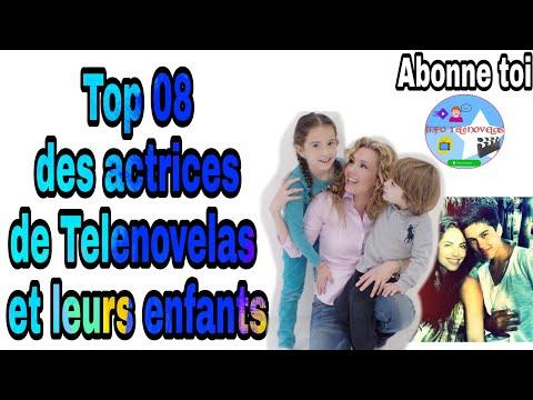Top 08 des actrices de Telenovelas avec leurs enfants