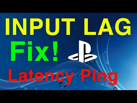 Ps4 How To Fix Input Lag Latency New Youtube