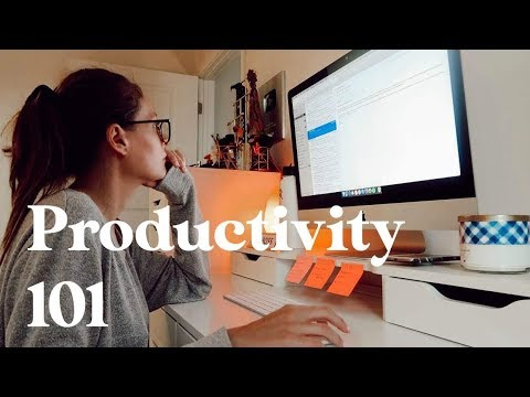 5 Secrets To Working Smarter NOT Harder   Productivity 101