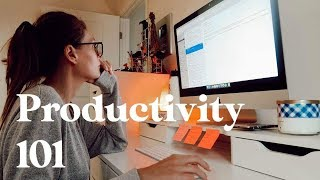 5 Secrets To Working Smarter NOT Harder | Productivity 101