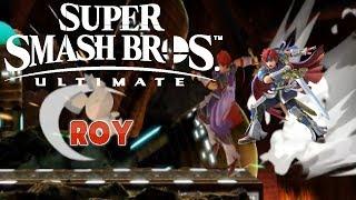 MORE FIRE EMBLEM! SUPER SMASH BROS. ULTIMATE GAMEPLAY! (Roy)