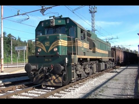 SZ  Rails - Slovenia September 2014 Part 4 - Postonja to Pivka.