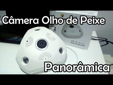 Como Configurar Câmera VR Panorâmica 360° no Celular - L Gyn