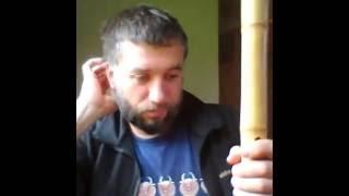 Как начать играть на бамбуковой флейте Хотику(сякухати)