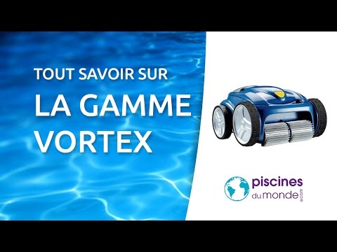 Robot piscine vortex zodiac pool care youtube for Balayeuse robot piscine