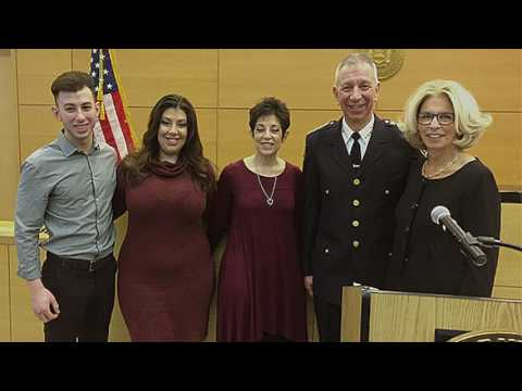 Chief Magliano: Promotion Ceremony