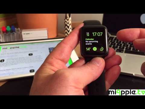 How to take screenshots on an Apple Watch Sport