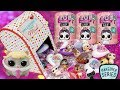 New LOL Surprise LILS in Valentine's Day Mail | Makeover Series 5 Pets + Lil Sisters + Brothers