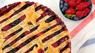 Very Berry Pie & Butter Tarts | 4th of July and Canada Day Desserts!