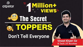 """The SECRET"" Toppers don't tell anyone- In Hindi"