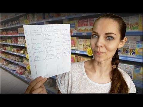 Экономичное меню на месяц для семьи из 2 человек