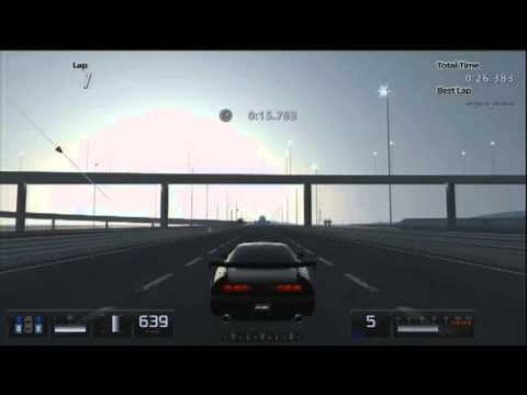 GT5 HACKED NSX: 15000+ HP/ 896 KMH - NSX Hybrid car - GT5 Speed hack