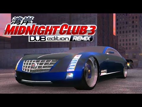 O LUXUOSO CADILLAC SIXTEEN -  Midnight Club 3 - DUB Edition Remix