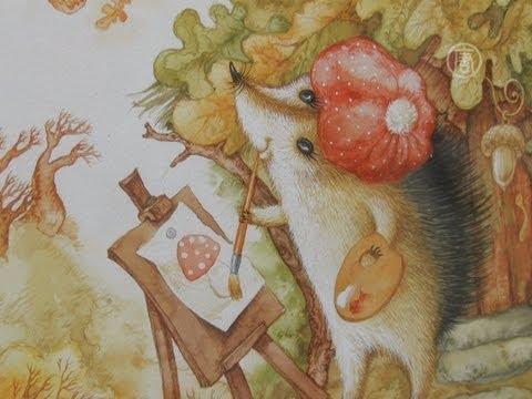Русские народные сказки в иллюстрациях палехского художника Александра Куркина