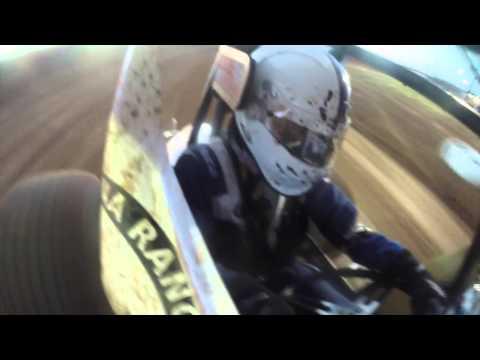 Joshua Hanna #82 - Abilene Speedway - Sprint Series of Texas Heat Race #2 - 5.2.15