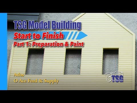 O Scale Atlas Feed Store Model Building 1 of 8 MBSTF
